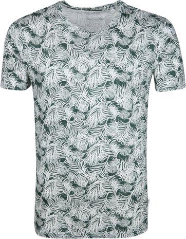 KnowledgeCotton Apparel T-shirt Bladeren