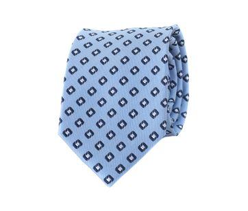 Krawatte Karo Blau