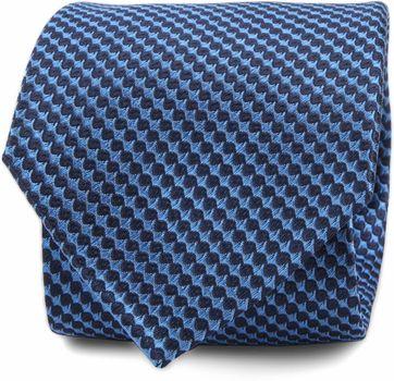 Krawatte Seide Blau F82-16