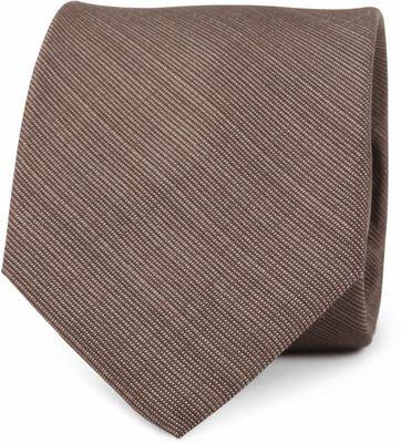 Krawatte Seide Braun K81-12
