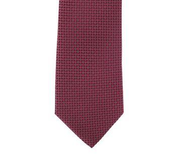 Detail Krawatte Seide Dessin Bordeaux 9-17