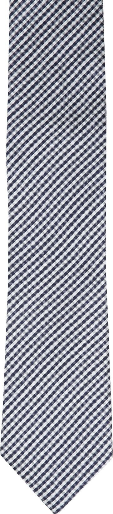 Krawatte Seide Dessin Karo K82-3