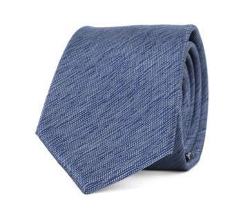 Krawatte Seide Dunkeblau 9-17