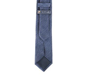 Detail Krawatte Seide Dunkeblau 9-17