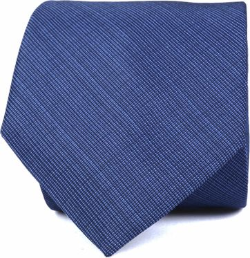 Krawatte Seide Dunkelblau K82-1