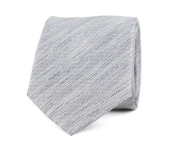 Krawatte Seide Grau 9-17