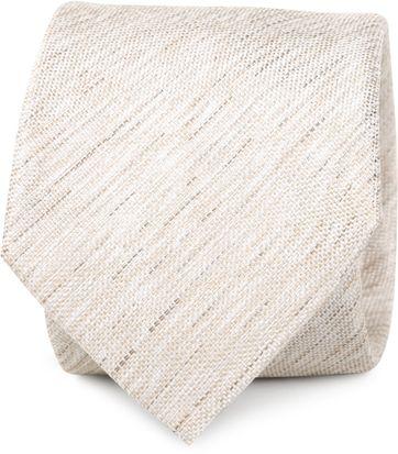 Krawatte Seide Hellbraun K81-6