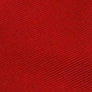 Krawatte Seide Knallrot Uni F34
