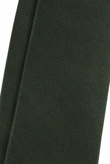 Krawatte Seide Moos Grün
