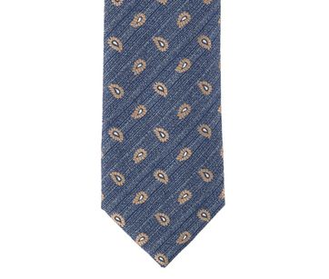 Detail Krawatte Seide Paisley 9-17