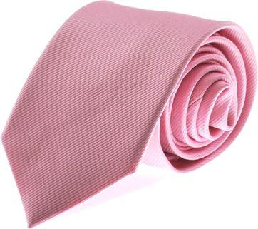 Krawatte Seide Rosa Uni F03