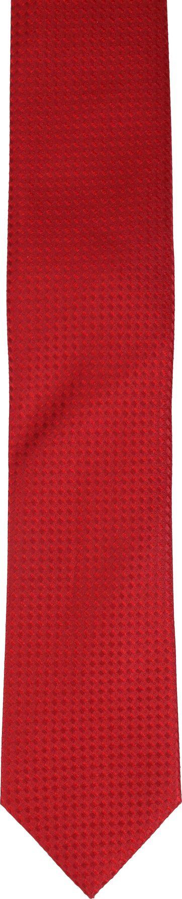 Krawatte Seide Rot Muster K82-12