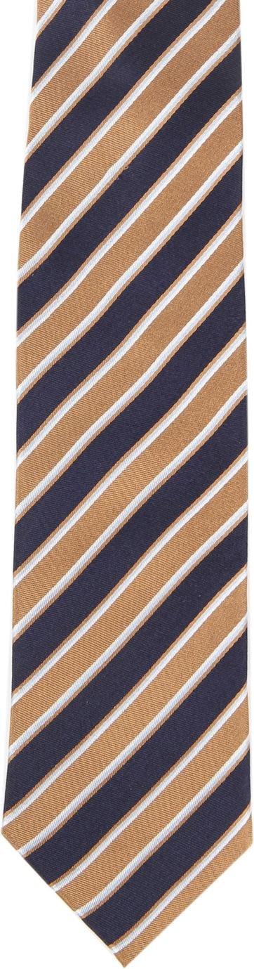 Krawatte Seide Streifen F82-11