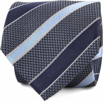 Krawatte Seide Streifen F82-9