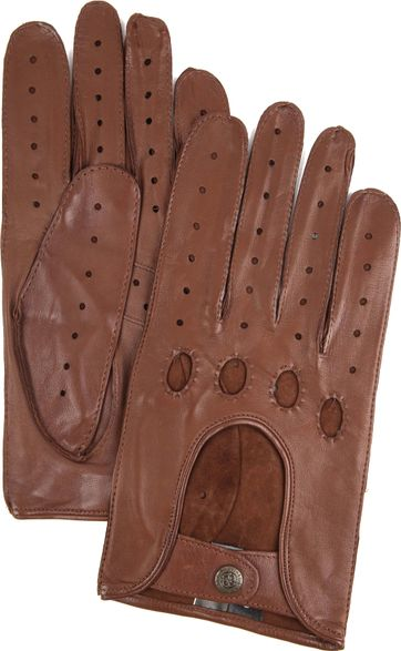 Laimbock Car Gloves Miami Brown