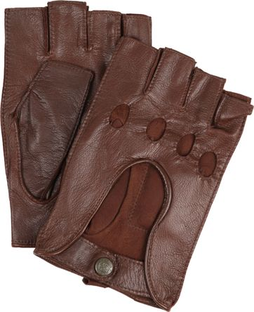 Laimbock Car Gloves Minneapolis Brown