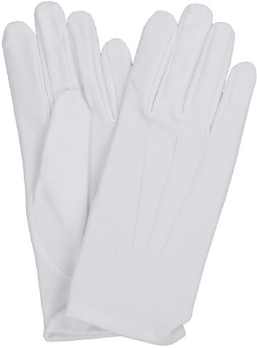 Laimbock Gala Gloves White