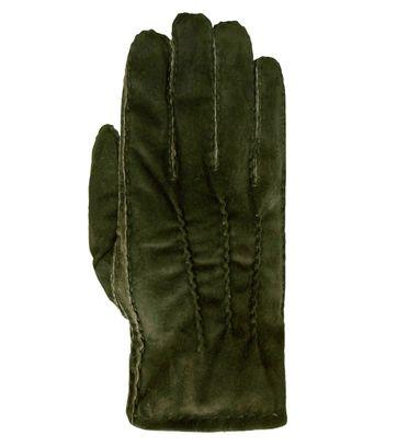 Laimbock Wildlederhandschuh Penryn Olive