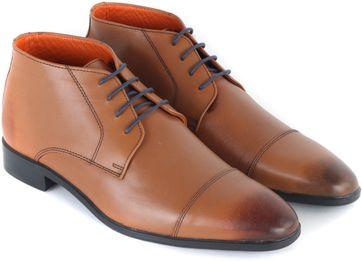 Leather Boots Cognac