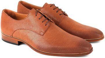 Leder Schuh Cognac