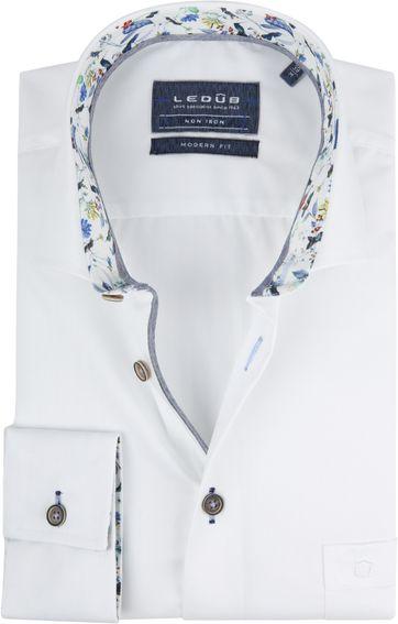 Ledub Hemd Bügelfrei MF Weiß