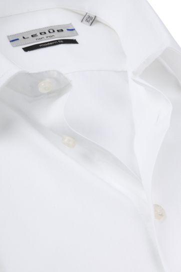 Ledub Hemd Kurze Ärmel Weiß MF