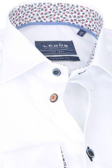 Ledub Hemd MF Non Iron 1773M Weiß