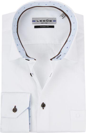 Ledub Hemd MF Twill Weiß