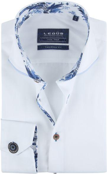 Ledub Hemd SL7 Weiß