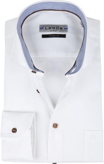 Ledub Hemd Weiß MF