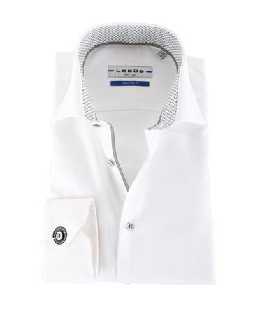 Ledub Hemd Weiß SL7