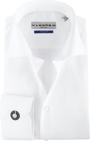 Ledub Non Iron SL7 Shirt White