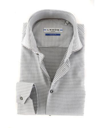 Ledub Overhemd Dessin Grijs