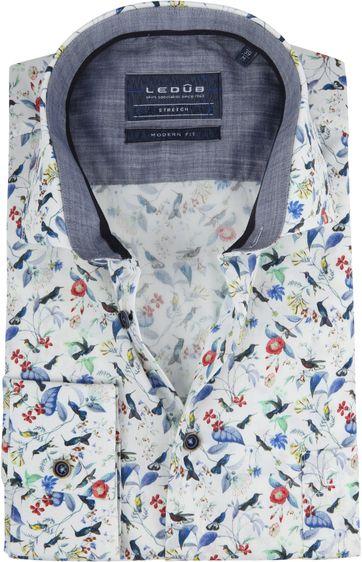 Ledub Overhemd MF Bloem
