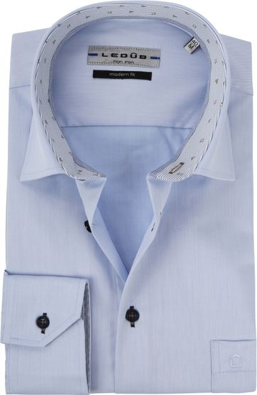 Ledub Overhemd MF Lichtblauw