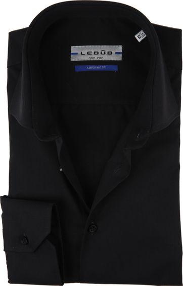 Ledub Overhemd MF Non Iron Zwart