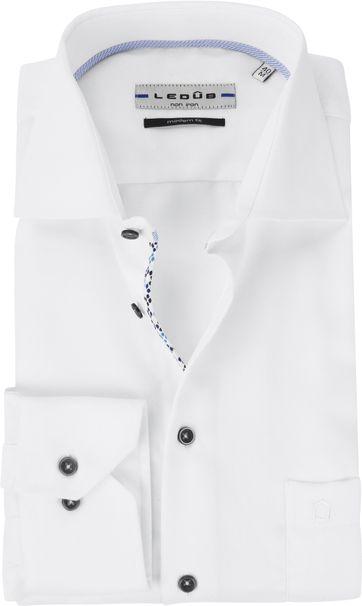 Ledub Overhemd MF Wit