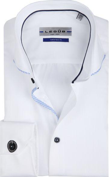 Ledub Overhemd Non Iron Wit SL7