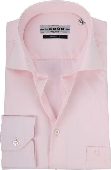 Ledub Overhemd Roze Non Iron