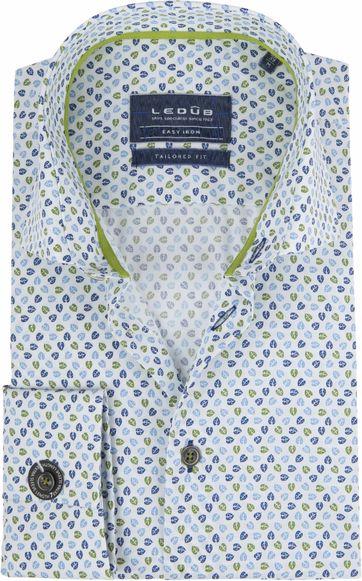 Ledub Overhemd TF Blaadjes SL7