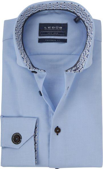 Ledub Overhemd TF Uni Lichtblauw