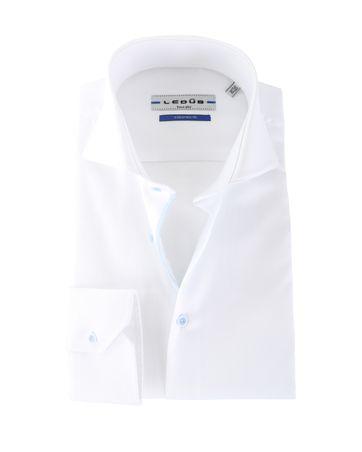 Ledub Overhemd Wit Cutaway