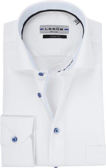 Ledub Overhemd Wit Non Iron MF