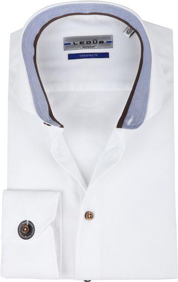Ledub Overhemd Wit TF SL7