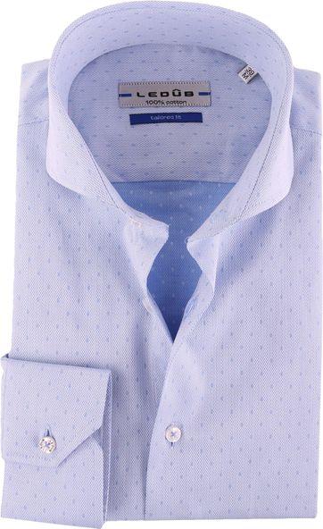 Ledub Shirt Blue Pattern