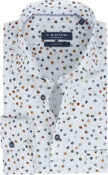 Ledub Shirt Landscape White