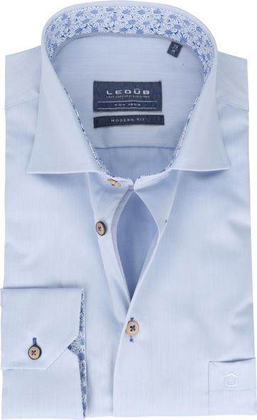 Ledub Shirt MF Non Iron 1773M Light Blue