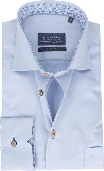 Ledub Shirt MF Non Iron 1773M Light Blue