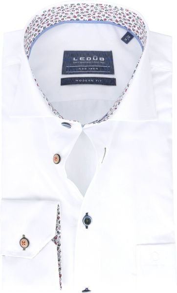 Ledub Shirt MF Non Iron 1773M White