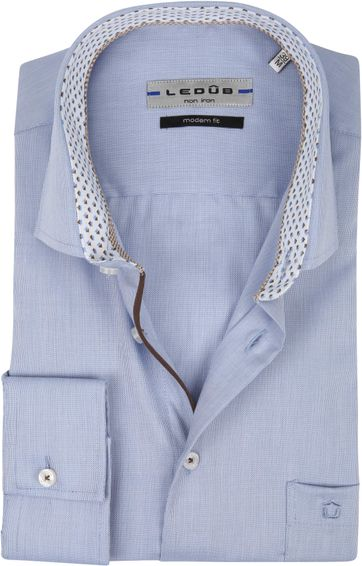 Ledub Shirt MF Non Iron Blue